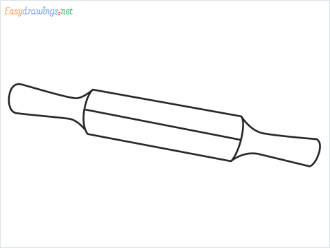 How to draw a Roller appliance step by step for beginners