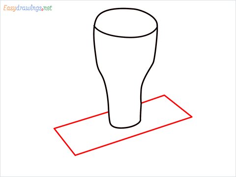 How to draw a Rubber stamp step (3)