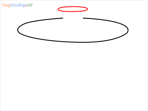 How to draw a Salad spinner step (2)