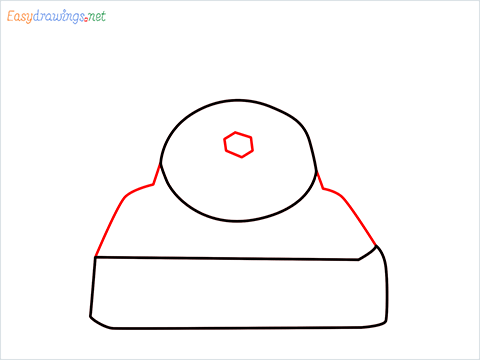 How to draw a Telephone step (3)