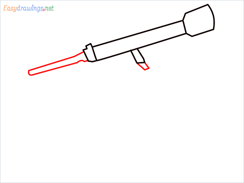 How to draw a Telescope step (4)