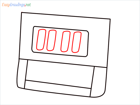How to draw a Timer step (5)