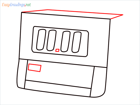 How to draw a Timer step (6)