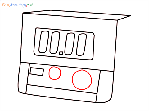 How to draw a Timer step (7)