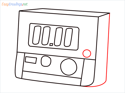 How to draw a Timer step (8)
