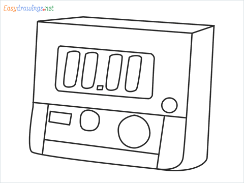 How to draw a Timer step by step for beginners