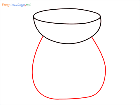 How to draw an Aroma lamp step (3)