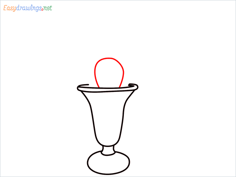 How to draw an Ice Cream step (5)