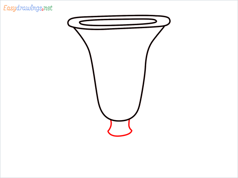 How to draw an ice cream cup step (4)
