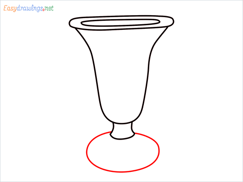 How to draw an ice cream cup step (5)