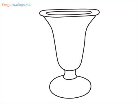 How to draw an ice cream cup step by step for beginners