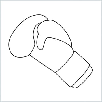 draw Boxing gloves