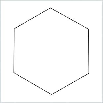 draw Hexagon shape