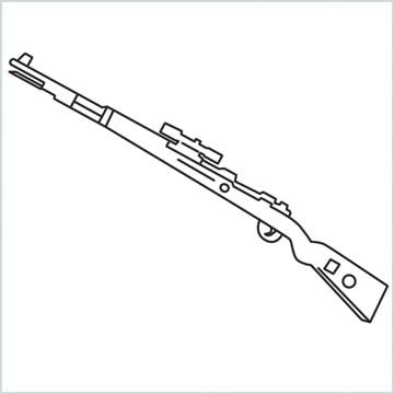 draw KAR98K sniper