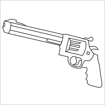 draw M500 Gun