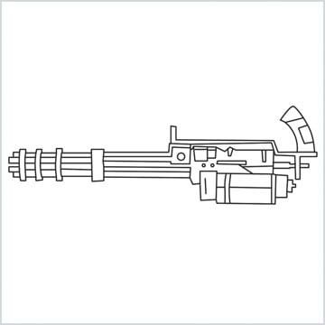 draw Minigun