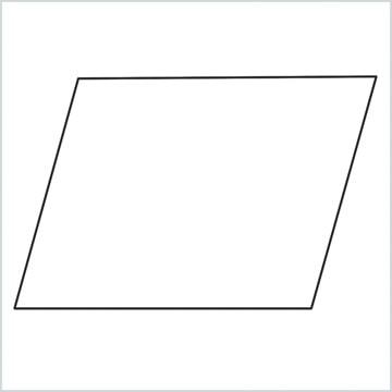 draw Parallelogram shape