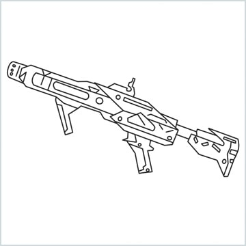 draw RGS50 Gun