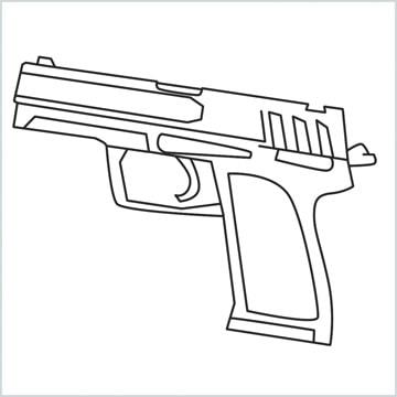 draw USP Gun