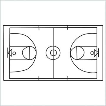 draw a Basketball court