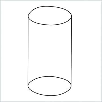 draw a Cylinder shape