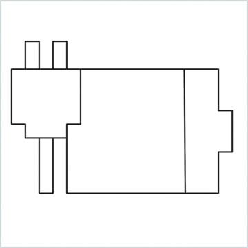 draw a Windows charging symbol