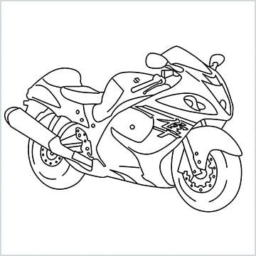 draw hayabusa