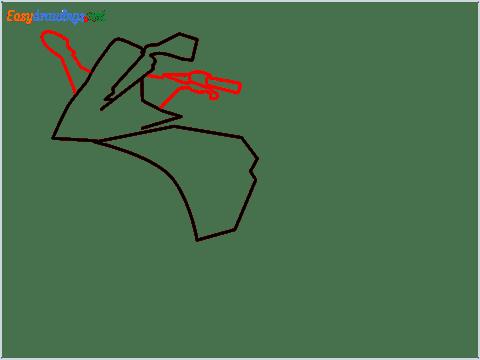 How to draw KTM bike step (3)