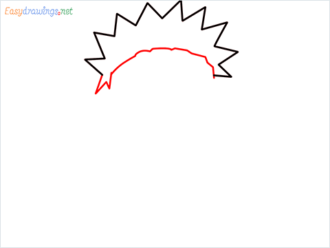 How to draw Naruto step (2)