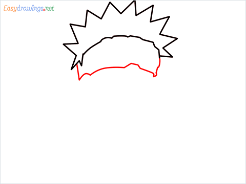 How to draw Naruto step (3)