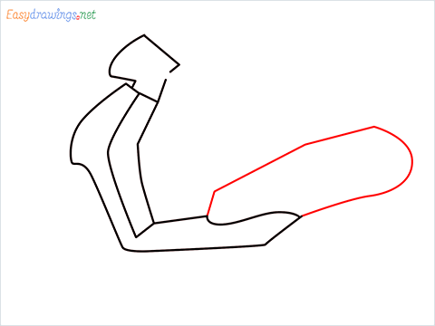 How to draw Scooter step (4)