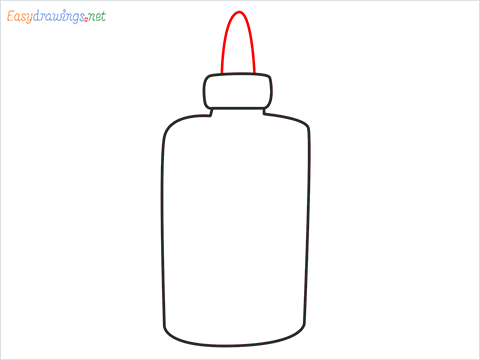 How to draw a Glue step (4)