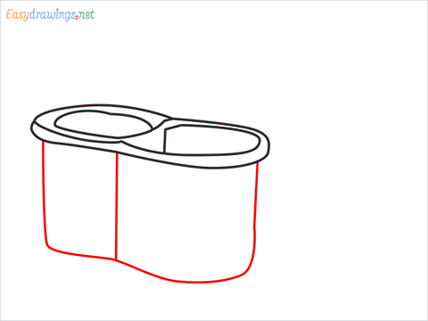 How to draw a Mop step (4)