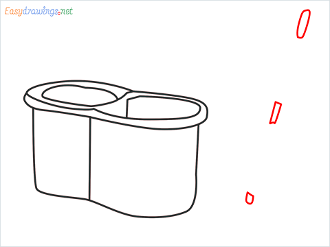 How to draw a Mop step (5)