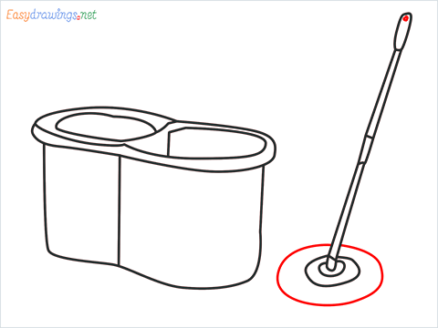 How to draw a Mop step (8)