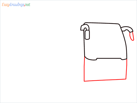 How to draw a Police bus step (3)