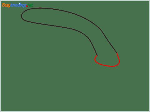 How to draw a Scrub brush step (2)