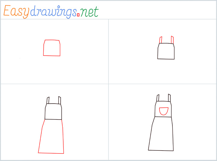 Overview for Apron drawing