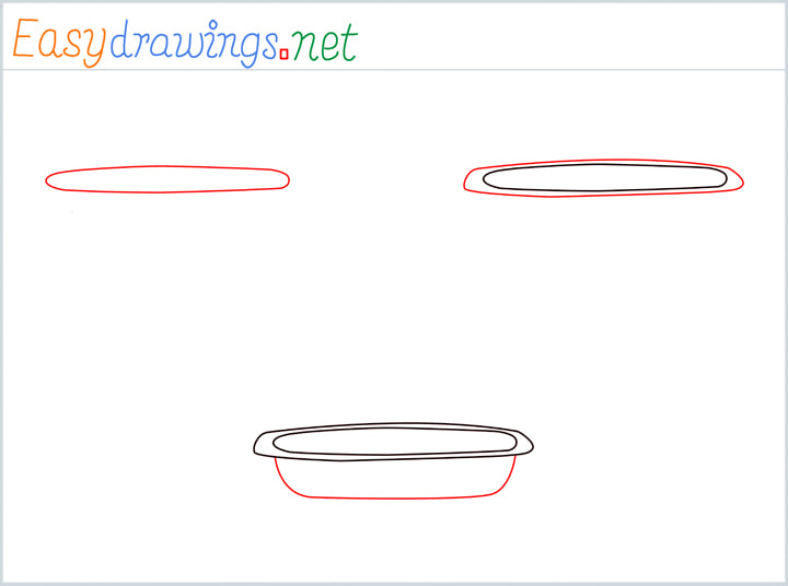 Overview for Casserole Dish drawing