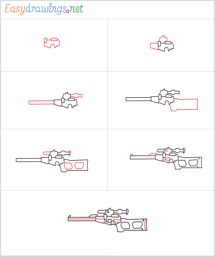 Overview for VSS sniper drawing