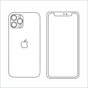 draw Apple Iphone