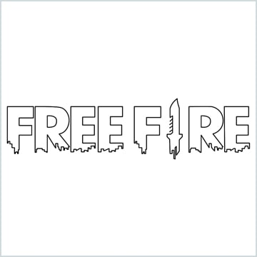 draw Free fire