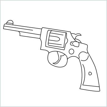 draw Revolver