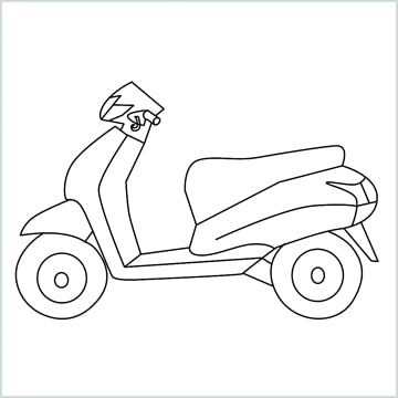 draw Scooter