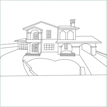 draw a Mansion