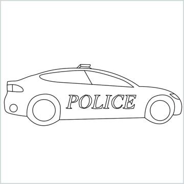 draw a Police car