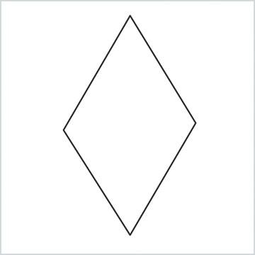 draw a Rhombus shape