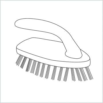 draw a Scrub brush
