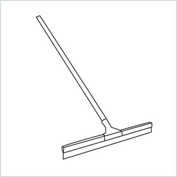 draw a Squeegee mop