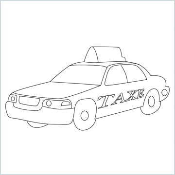 draw a Taxi